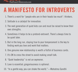 Introverts Manifesto